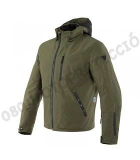Chaqueta Dainese Mayfair D-Dry Black/Grape-Leaf/Grape-Leaf